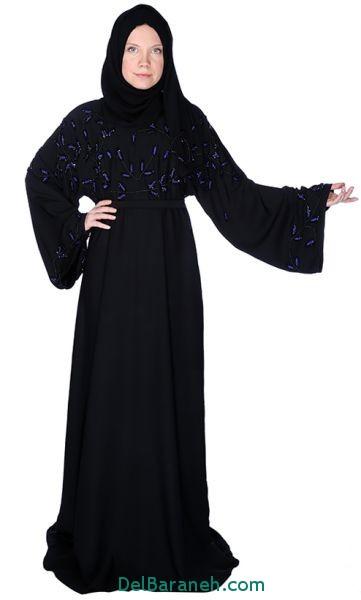 مدل مانتو زنانه بلند عربی (22)