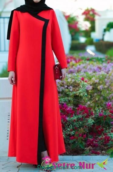 مدل مانتو زنانه بلند عربی (3)