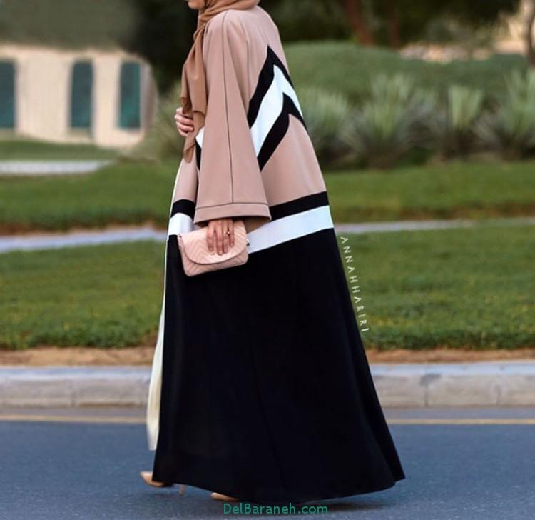 مدل مانتو زنانه بلند عربی (4)