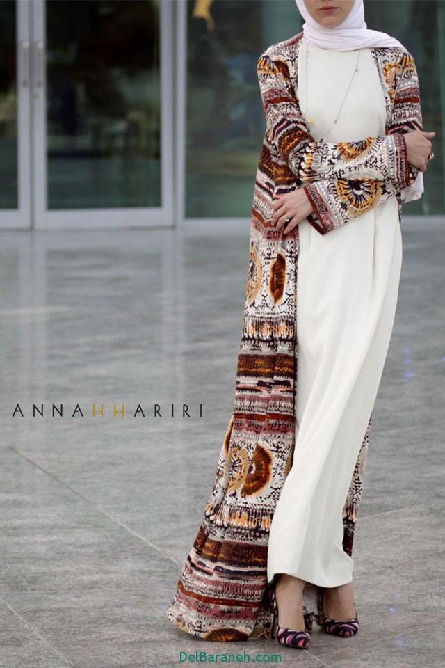 مدل مانتو زنانه بلند عربی (5)