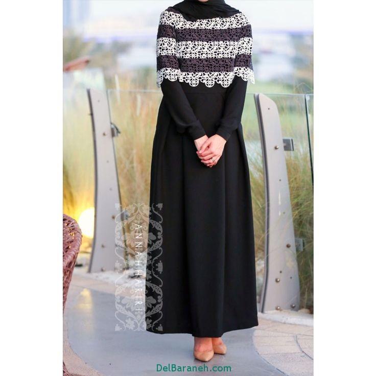 مدل مانتو زنانه بلند عربی (6)