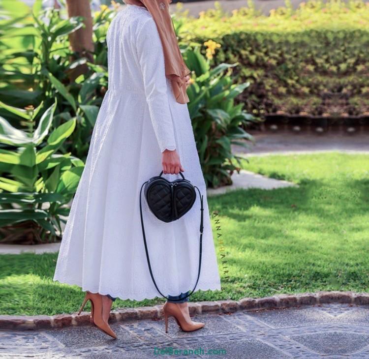 مدل مانتو زنانه بلند عربی (7)