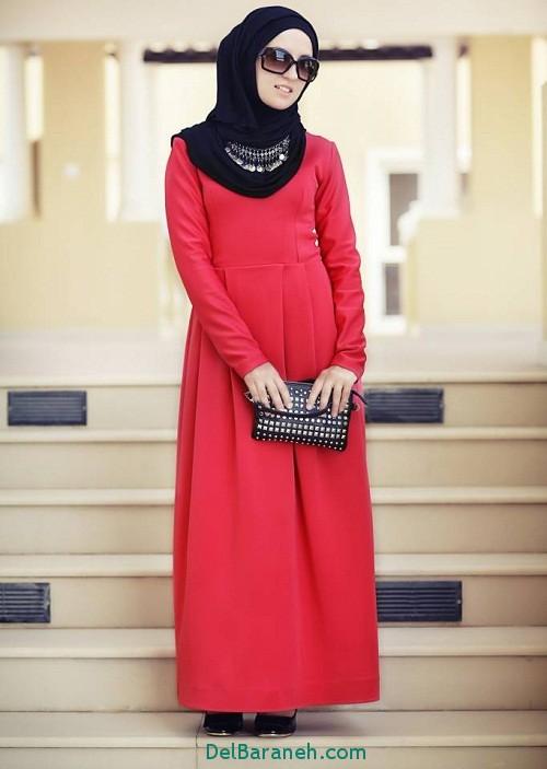مدل مانتو زنانه بلند عربی (8)