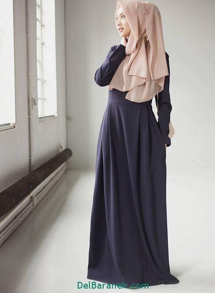 مدل مانتو زنانه بلند عربی (9)