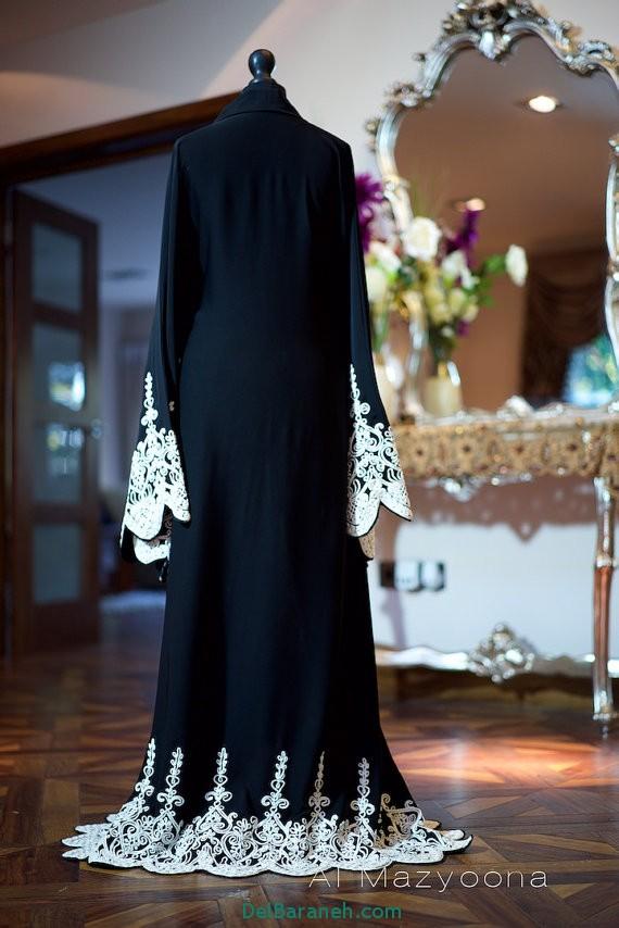مدل مانتو عبایی جلو باز عربی (13)