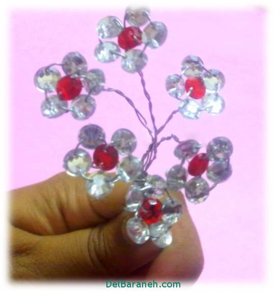 مدل گل کریستالی (3)