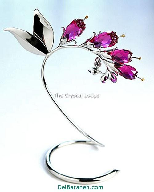 مدل گل کریستالی (6)