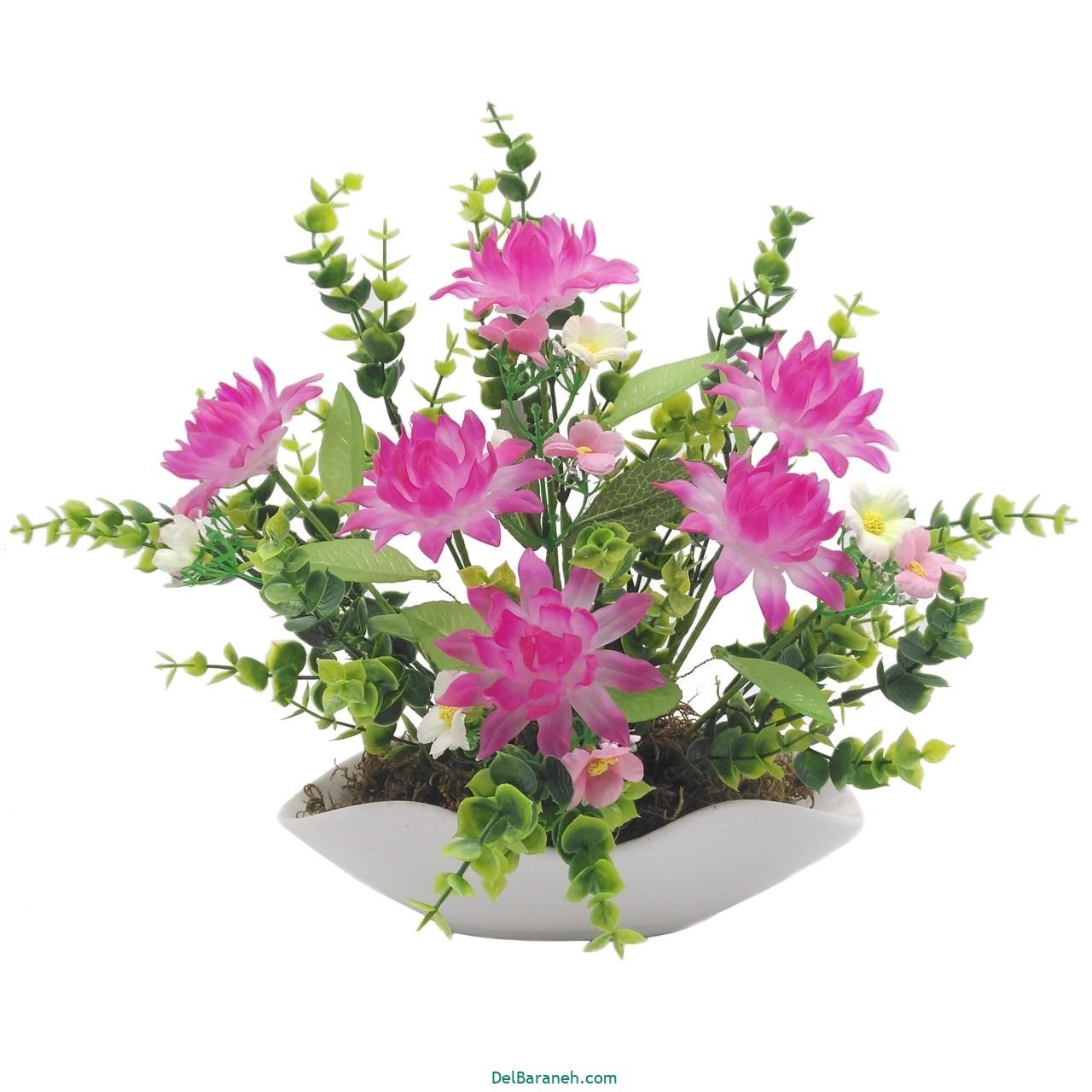 گلدان با گل کریستالی (۱۰)