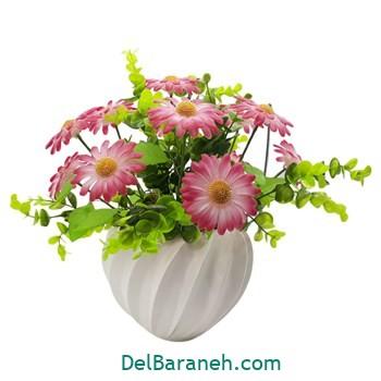 گلدان با گل کریستالی (۱۱)