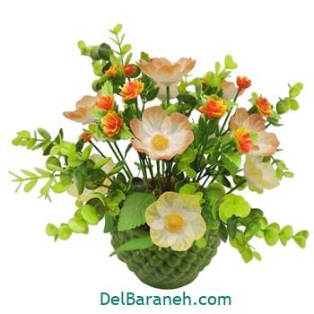 گلدان با گل کریستالی (۱۲)