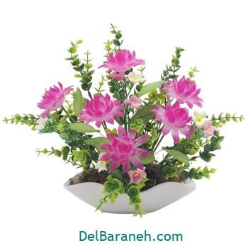 گلدان با گل کریستالی (۷)