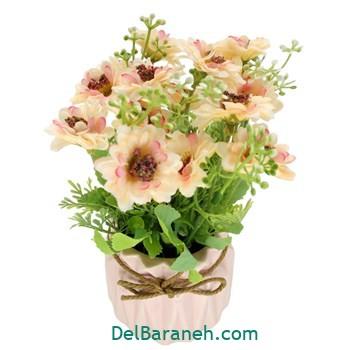 گلدان با گل کریستالی (۹)
