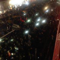 تجمع مردم بیمارستان شهدای تجریش|علی اکبر هاشمی رفسنجانی درگذشت