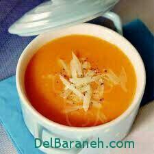 آموزش طرز تهیه سوپ گوجه فرنگی خامه ای بسیار خوشمزه