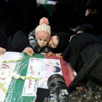 تشییع جنازه شهدای آتش نشان پلاسکو ۱۱ بهمن ۹۵ + دانلود فیلم