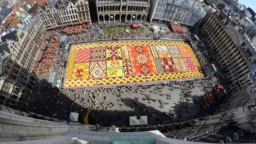 میدان بزرگ، بروکسل، بلژیک