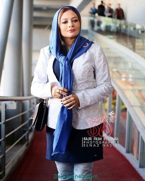 عکس های جدید یکتا ناصر در جشنواره فیلم فجر