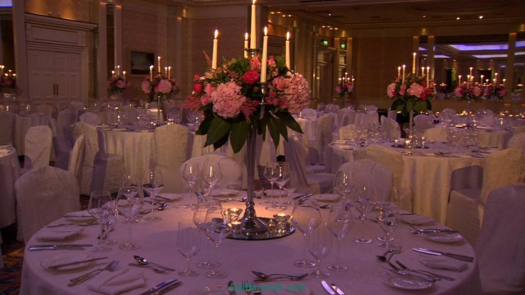 دکوراسیون و چیدمان باغ و تالار عروسی (1)