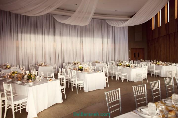 دکوراسیون و چیدمان باغ و تالار عروسی (11)