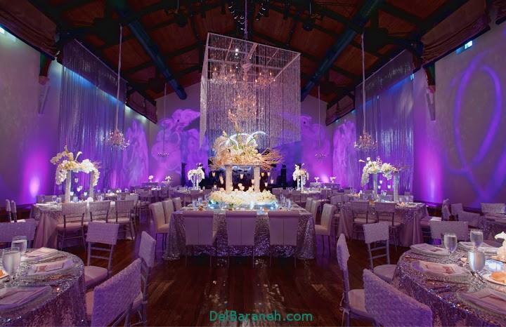 دکوراسیون و چیدمان باغ و تالار عروسی (13)
