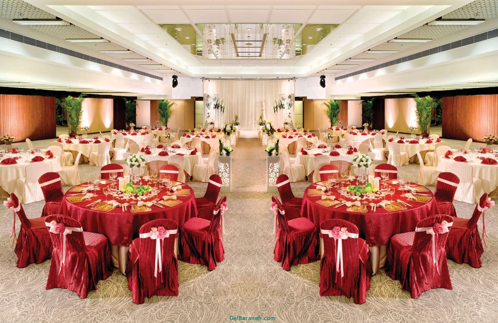 دکوراسیون و چیدمان باغ و تالار عروسی (16)