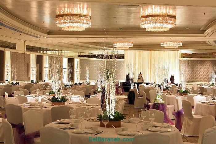 دکوراسیون و چیدمان باغ و تالار عروسی (25)