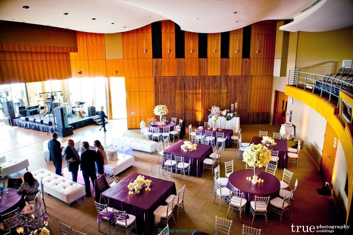 دکوراسیون و چیدمان باغ و تالار عروسی (3)