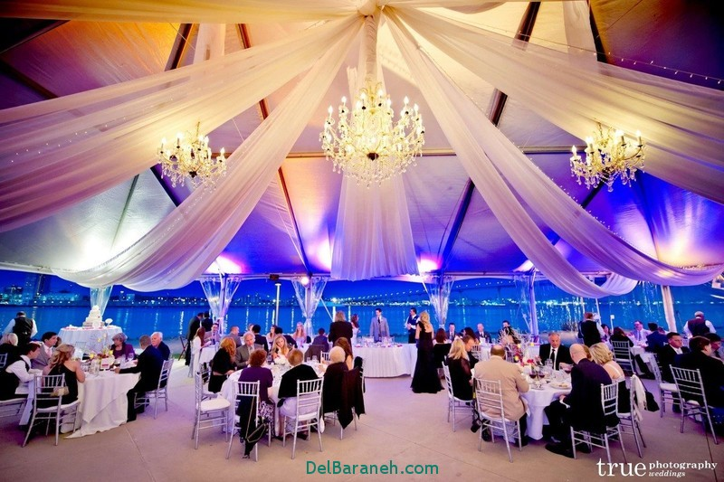 دکوراسیون و چیدمان باغ و تالار عروسی (6)