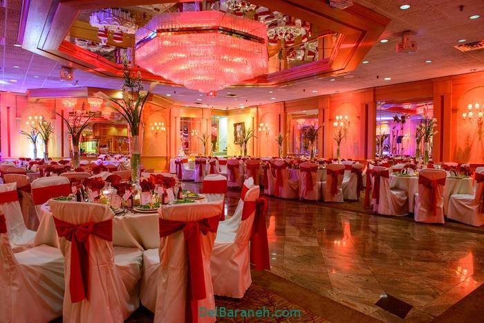 دکوراسیون و چیدمان باغ و تالار عروسی (7)