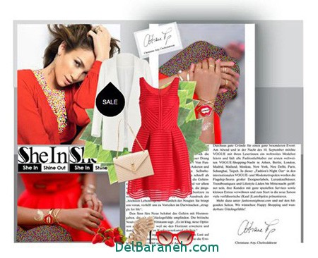 ست لباس شب جنیفر لوپز (5)