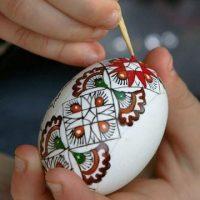 مدل تخم مرغ رنگی نوروز | آموزش تهیه تخم مرغ رنگی ساده + تصاویر
