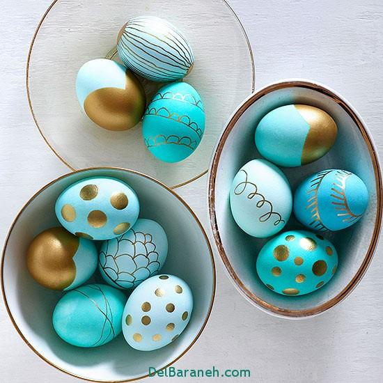 مدل تخم مرغ رنگی نوروز 96 (33)