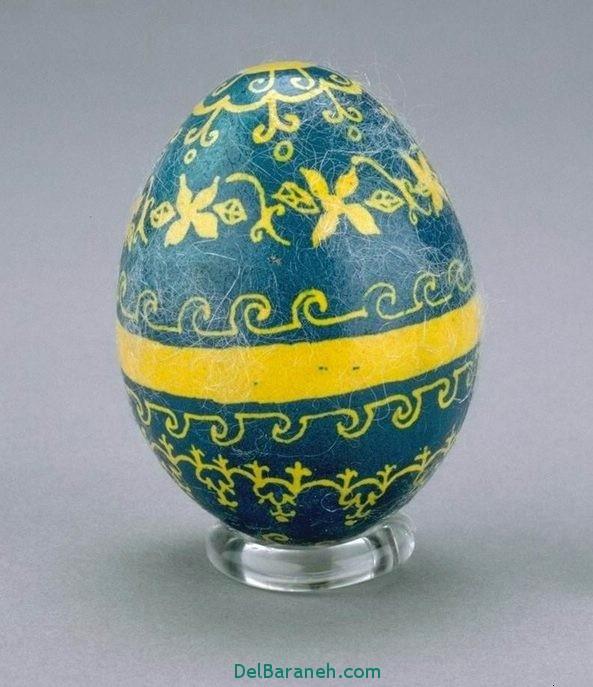 مدل تخم مرغ رنگی نوروز 96 (38)