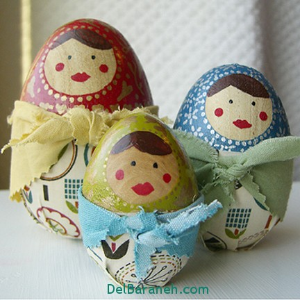مدل تخم مرغ رنگی نوروز 96 (39)