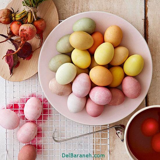 مدل تخم مرغ رنگی نوروز 96 (40)