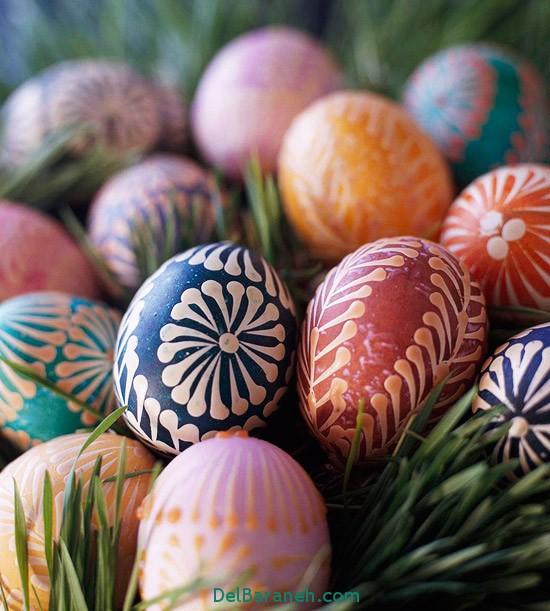 مدل تخم مرغ رنگی نوروز 96 (44)