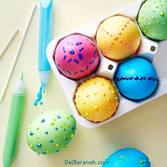 مدل تخم مرغ رنگی نوروز 96 (47)