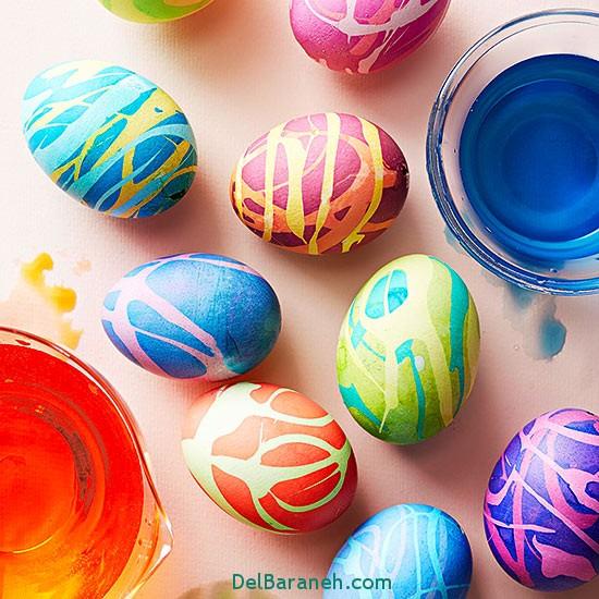 مدل تخم مرغ رنگی نوروز 96 (50)