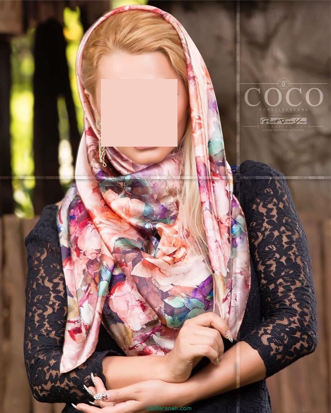 مدل شال و روسری دخترانه و زنانه ایرانی (11)