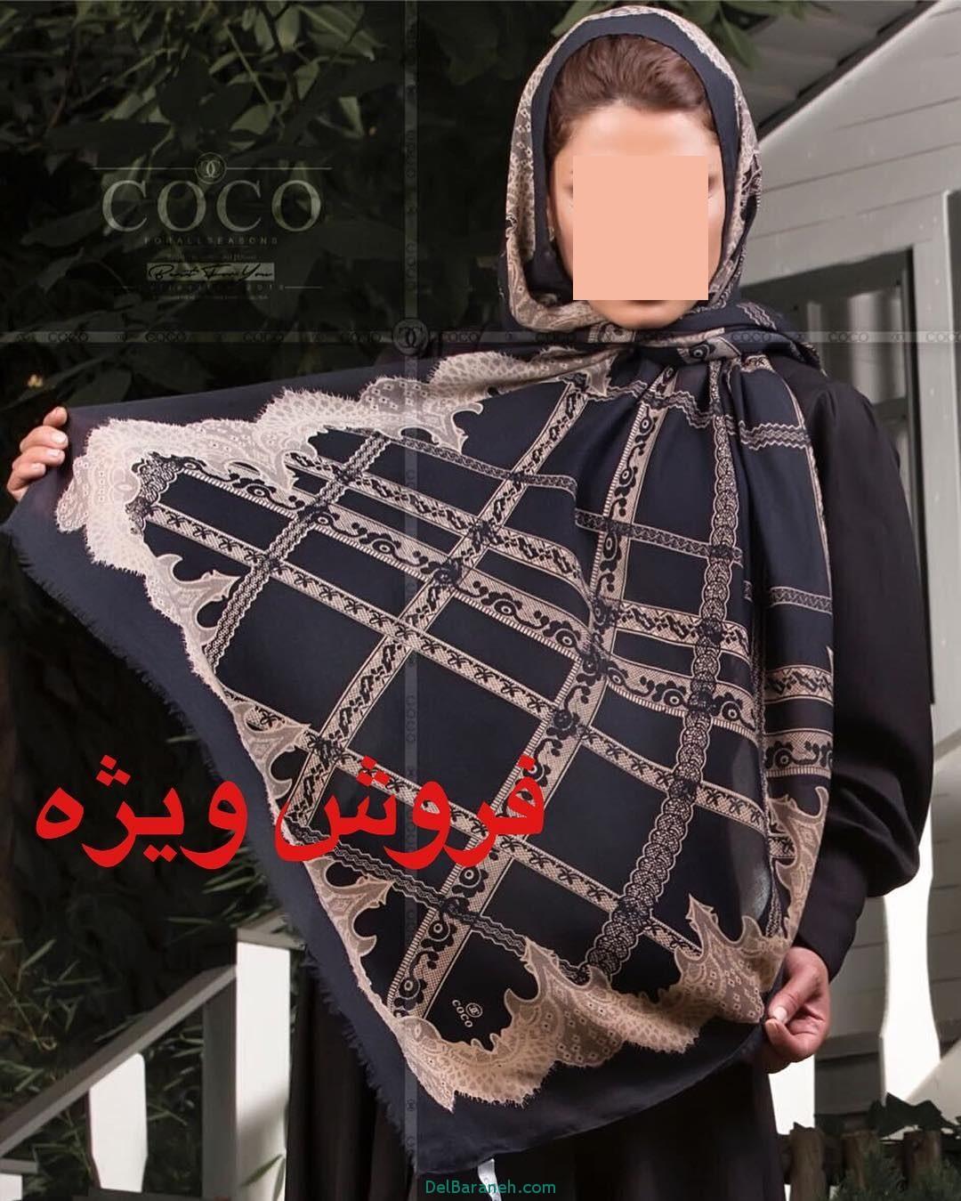 مدل شال و روسری دخترانه و زنانه ایرانی (20)