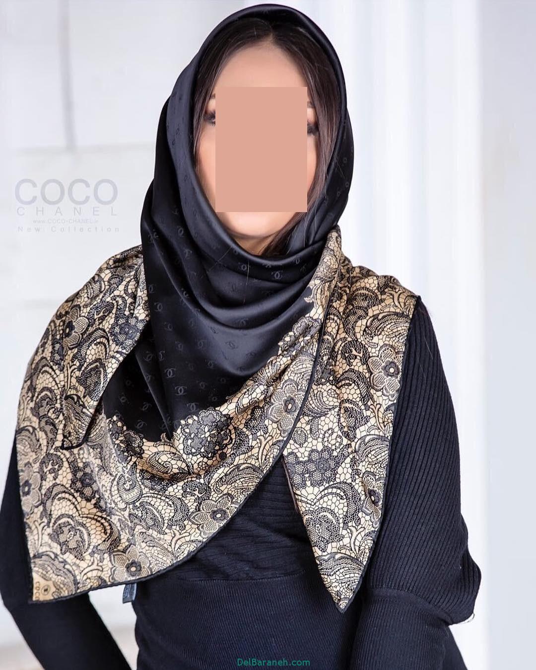 مدل شال و روسری دخترانه و زنانه ایرانی (4)