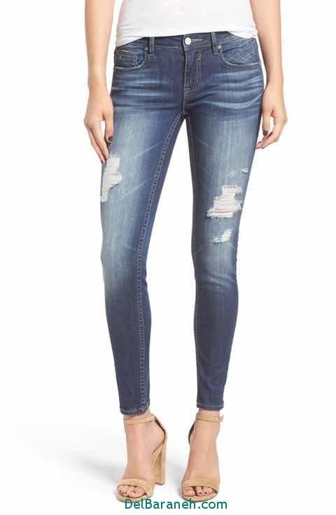 مدل شلوار جین دخترانه (3)
