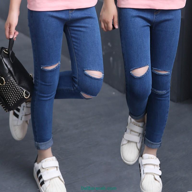 مدل شلوار جین دخترانه (5)