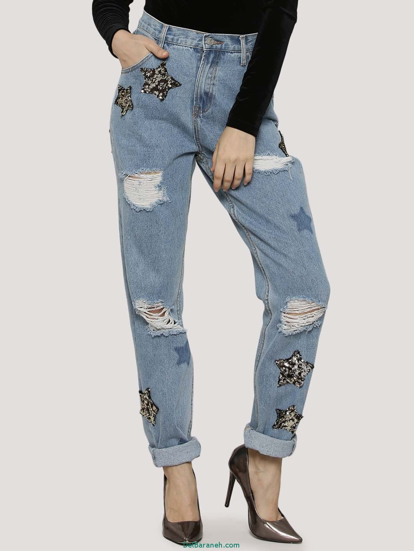مدل شلوار جین دخترانه (8)