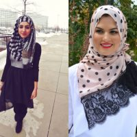 مدل روسری در زنگ های مختلف ویژه نوروز ۹۶