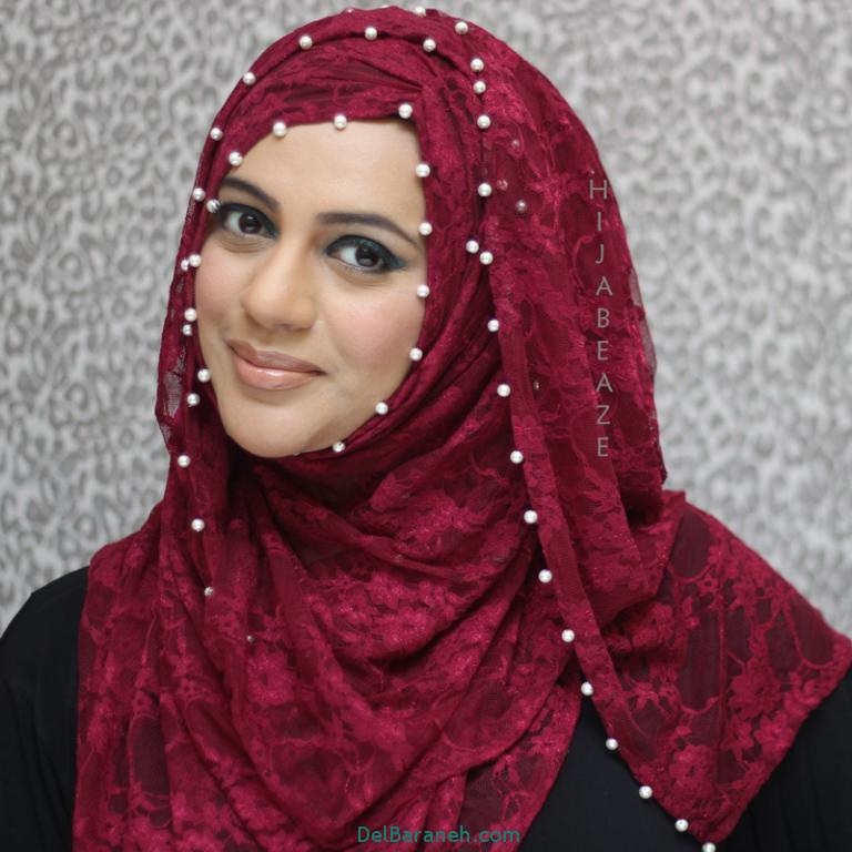 مدل روسری در رنگ های مختلف ویژه نوروز 96