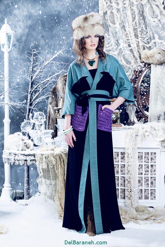 مدل لباس مجلسی زنانه طرح های روسی شیک 2017