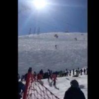 دانلود فیلم سقوط دختر اسکی باز از تله سی یژ دربندسر تهران+علت