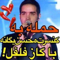 جزئیات حمله به کنسرت محسن یگانه با گاز فلفل اشک آور بم کرمان