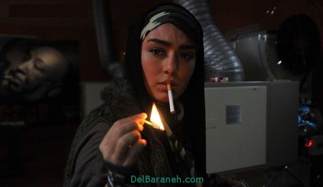 دانلود فیلم و عکس سیگار کشیدن سحر قریشی بازیگر سینما